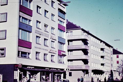 1958 - Neubau der Union-Wohnbau - Danke an Christel Feyh - Foto Helmut Feyh