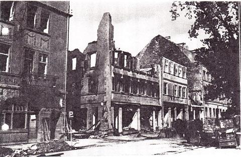 Zerstörungen im Zweiten Weltkrieg