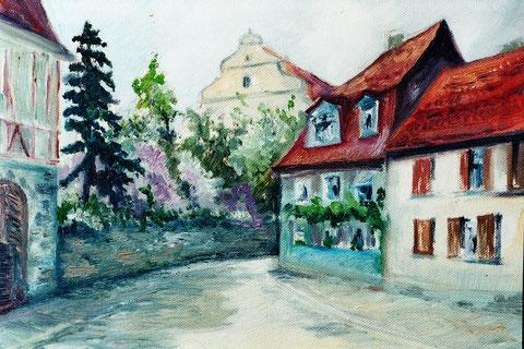 Ölgemälde von Friedrich Schirmer (1919 - 1994) vor 1944