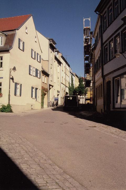 Krumme Gasse Schweinfurt 2005