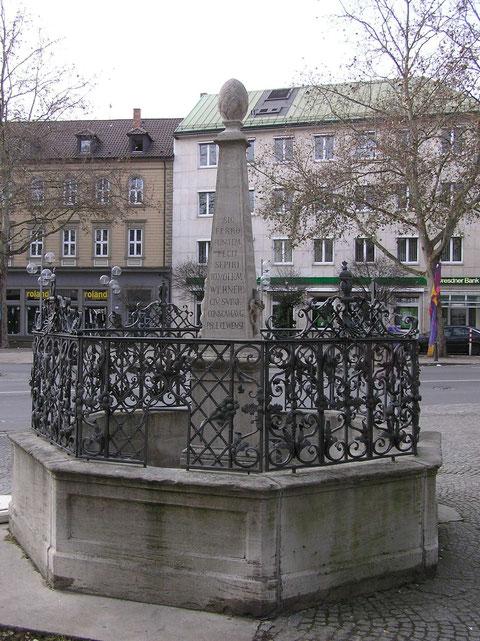 Vierröhren-Brunnen