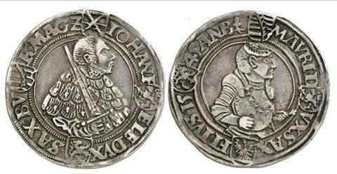 gleicher Münztyp allerdings 1545