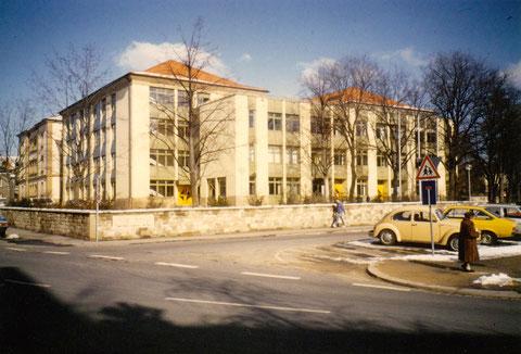 Celtis-Gymnasium nach dem Umbau