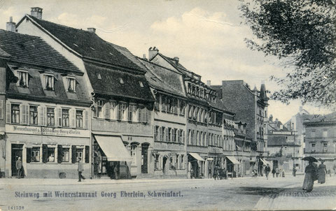 Steinweg/Schultesstraße 20 - 1908