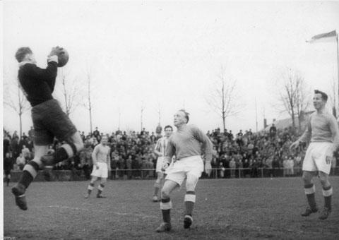 Spielfoto 1860 München gg. FC05 Schweinfurt 1950/1951
