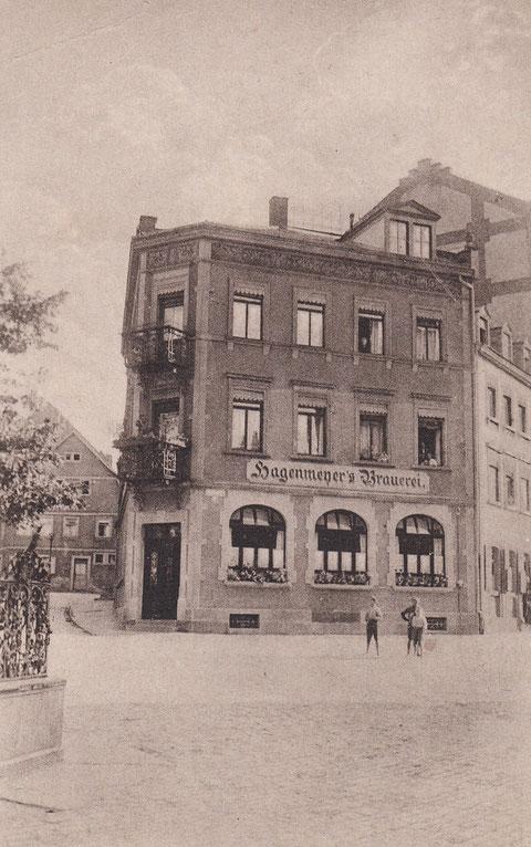 Brauerei Hagenmeyer - Albrecht-Dürer-Platz - Danke an Horst Gößwein