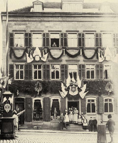Markt 28 - Bäckerei Georg Blickle (später Cafe Schreier)