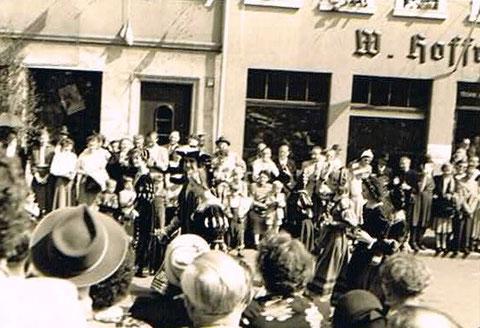 09. Mai 1954 - Jubiläumsfeier  der Stadt Schweinfurtin Schweinfurt