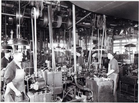ca. 1955 - Fertigung SKF-Werk 1 - Danke an Gerhard Ahles