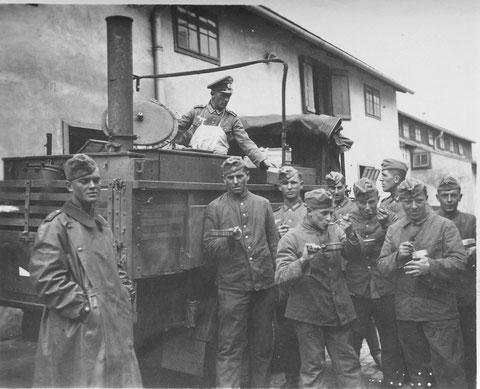 Kasernen Feldküche der Panzerjäger Abt. 38 Schweinfurt