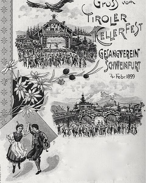 1899 - Tiroler Kellerfest