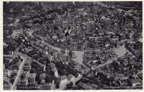 Luftaufnahme in den 1930ern