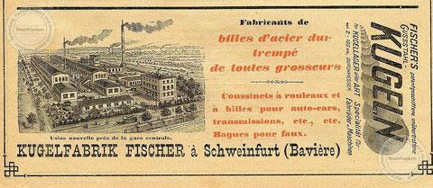 Werbung in Frankreich - Jahr unbekannt - Danke an Aribert Elpelt