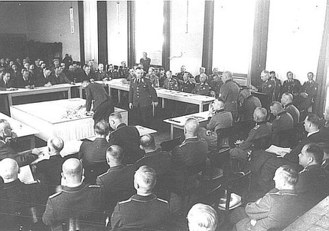Planspielübung des BRK 1939