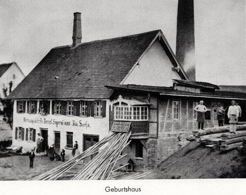 Das Geburtshaus von Ernst Sachs in Konstanz