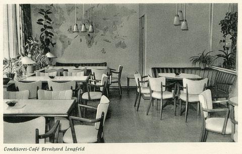 Das Café im Jahre 1962