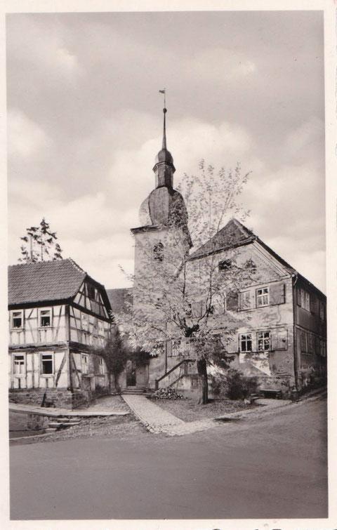 Evang. Kirche um 1920 - Danke an Peter Wiegand