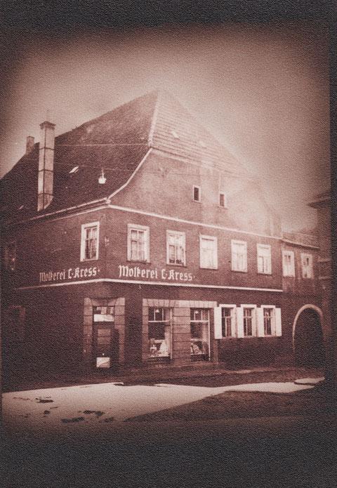 Judengasse 11 - das Haus stammt aus dem Jahr 1649 (Grundsteininschrift) 1872 kam es zu Einbauten - 1956 wurde es bis auf das Erdgeschoss abgerissen und neu aufgebaut