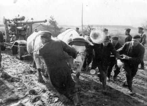 Flak bei Geldersheim wird verlagert - 1944