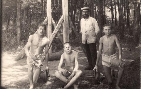 1922 - zweiter v. rechts  Otto Winter
