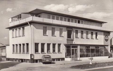 Coca-Cola-Fabrik 1960er