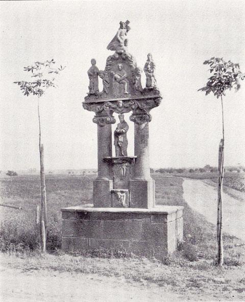 Bildstock aus dem Jahre 1694