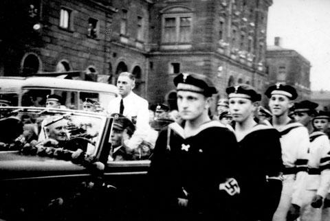 1936 - Empfang in Schweinfurt