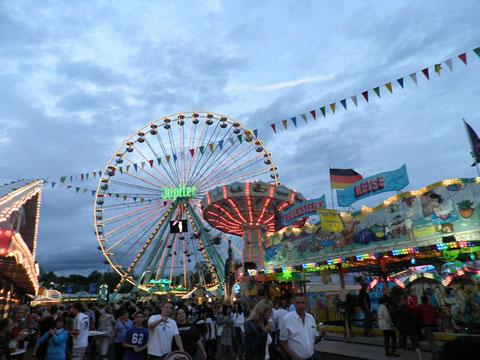 Auf dem Schweinfurter Volksfest