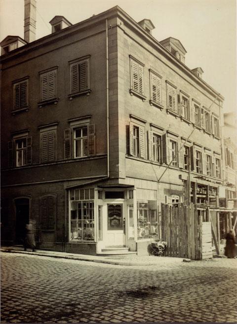 Fassadenerneuerung 1927
