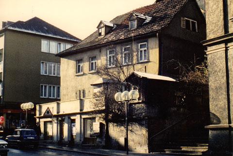 """Rückertstraße - einst dort der """"Schnaps-Müller"""""""