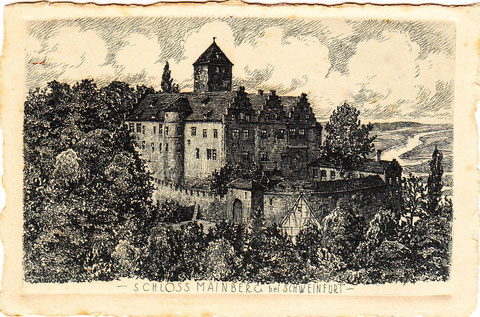 Schloss Mainberg um 1890