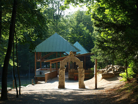 Tor der Wünsche im Wildpark