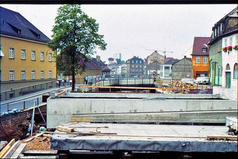 Erster Bauabschnitt Paul-Rummert-Ring/Brückenstraße