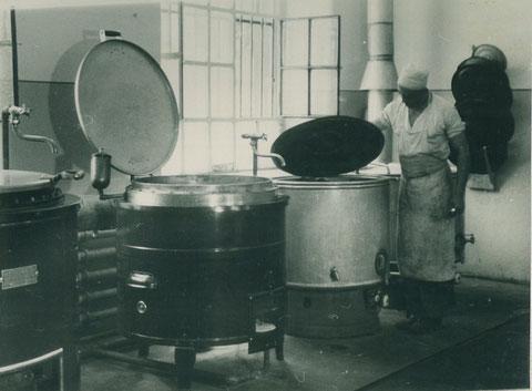 Kochanlage beim Reichsarbeitsdienst Cramerstraße 1936