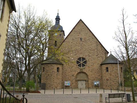Die Kreuzkirche heute
