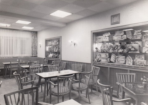 Bauerngasse 89 - Cafe  Ernst Wirth 1958 - Danke an Frau Hilde Müller