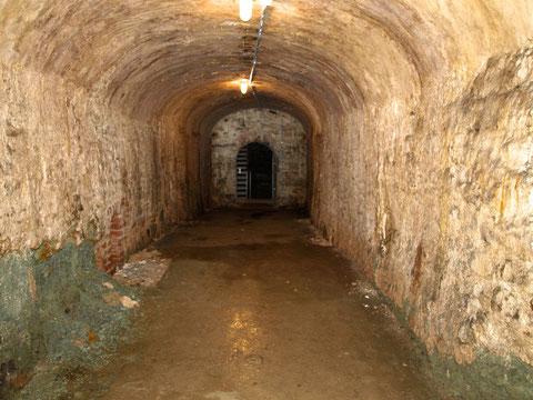 Der unterirdische Gang von der Krummen Gasse zum Weißen Turm Foto: Peter Hofmann