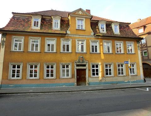 """Das wunderschöne """"Haus Weppert"""" in der Zehntstraße in Schweinfurt wird derzeit saniert"""