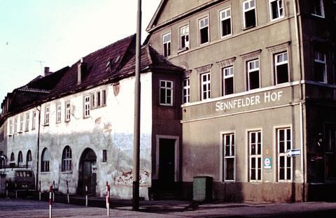 1977 - Ecke Brückenstraße - Danke an Christel Feyh
