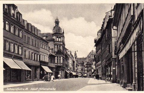 """Im """"Dritten Reich"""" hieß die Spitalstraße """"Adolf-Hitler-Str."""""""