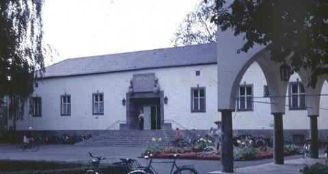 Als das Ernst-Sachs-Bad noch keine Kunsthalle war...