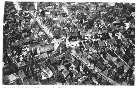 Luftbild aus dem Jahre 1930 - Danke an Michael Kupfer