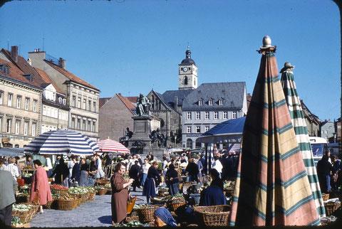 Der Marktplatz - Juni 1959