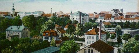 Blick auf den Oberen Wall (rechts) ca. 1905/10