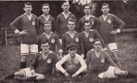 1. Fußballmannschaft 1920