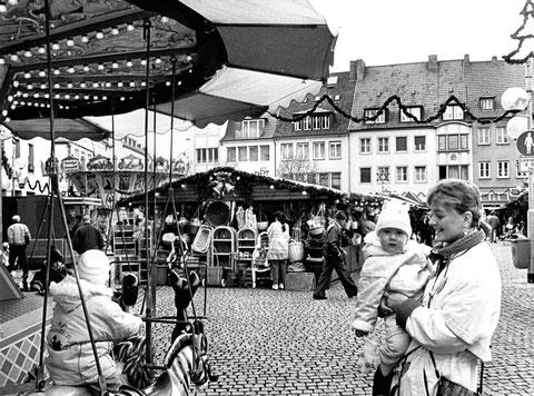 Auf dem Marktplatz
