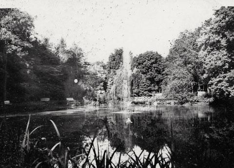 In den Wehranlagen - ca. 1940