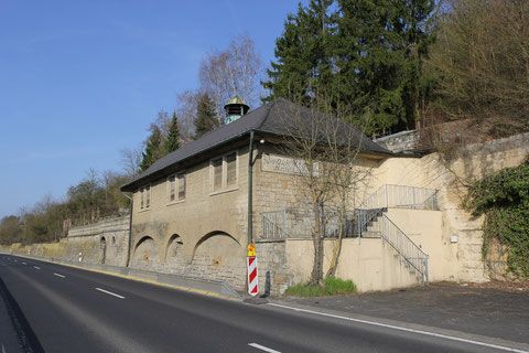 Die einstige Winzer-Klause an der Mainberger Straße