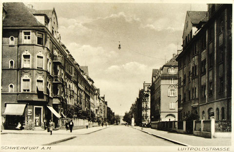 Luitpoldstraße Ende der 1930er