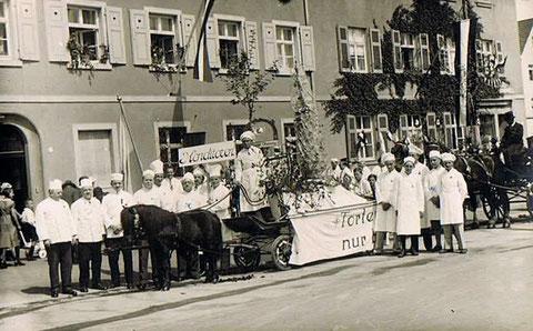 Konditorenumzug 01. Mai 1934